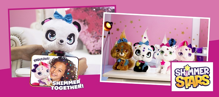 купить Мягкая игрушка Shimmer Stars Укрась блестками KD Toys