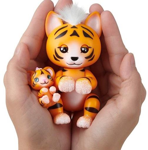 Дикие кошки Fingerlings (тигр, пантера, лев) Purrfect Cats Series