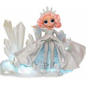 Кукла ЛОЛ Зимнее диско в светящемся платье Crystal Star L.O.L.