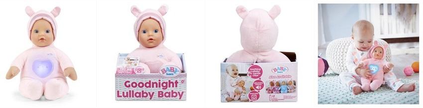 Кукла для сна Baby Born колыбельная Goodnight 1 Lullaby