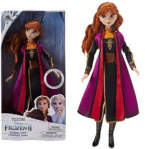 Кукла поющая Анна 30 см Холодное сердце-2 Disney Store