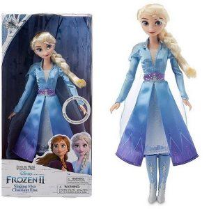Кукла поющая Эльза 30 см Холодное сердце-2 Disney Store