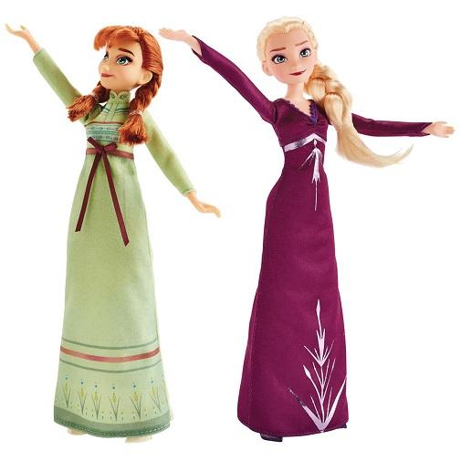 Кукла с двумя нарядам Анна и Эльза Холодное сердце-2 Arendelle Fashions