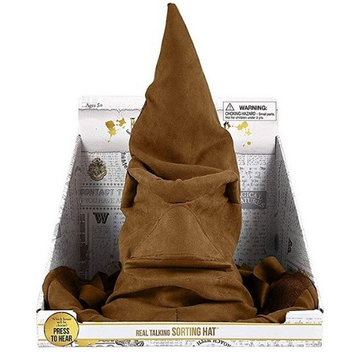 Говорящая распределяющая шляпа Гарри Поттер Harry Potter Talking Sorting Hat