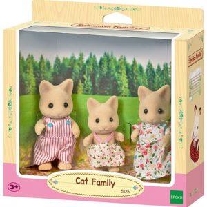 Игровой набор Семья Кремовые кошки Sylvanian Families 5126 Devon Cream Cat Family