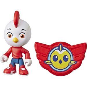 Игрушка фигурка Род 10 см с медалью Отважные птенцы Top Wing Hasbro