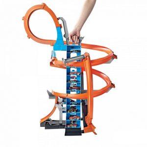 Игровой набор Hot Wheels Падение с башни GJM76