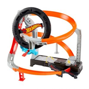 Игровой набор Hot Wheels Шиномонтажная мастерская GJL16
