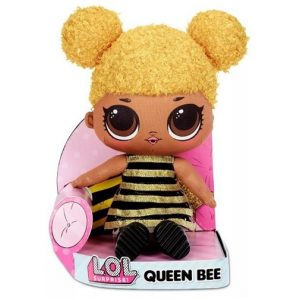 Мягкая плюшевая кукла Пчелка ЛОЛ Huggable Plush Queen Bee LOL