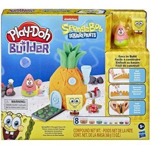 "Play-Doh Builder Губка Боб ""Домик в ананасе"" E9047 Лепим и Строим Hasbro"