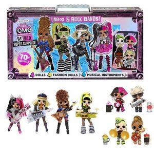 L.O.L. Surprise! O.M.G. Remix 4 куклы Фешн и 4 малышки ЛОЛ и 70+ сюрпризов
