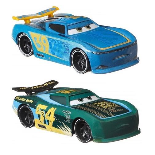 Набор Cars из 2 базовых машинок Тачки: Херб Карблер и Майкл Ротор DXV99