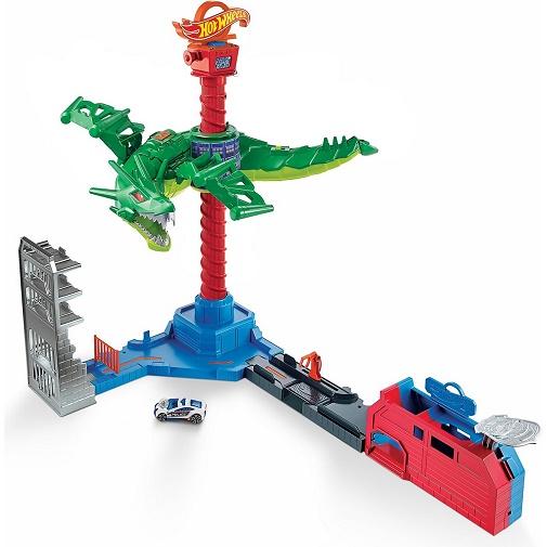 Набор Воздушная атака дракона-робота Hot Wheels City GJL13