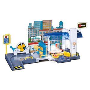 Игровой набор Автомойка Street Fire с машинкой Bburago 18-30406