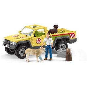 Игровой набор Визит ветеринара на ферму Schleich 42503