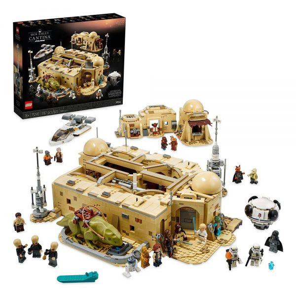 Лего 75290 Кантина Мос-Эйсли Star Wars (3187 детали) Mos Eisley Cantina LEGO