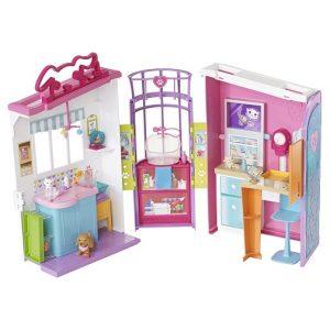 Barbie Игровой набор Ветеринарный центр FBR36