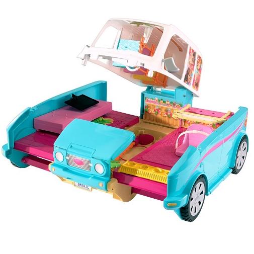 Barbie Раскладной фургон для щенков