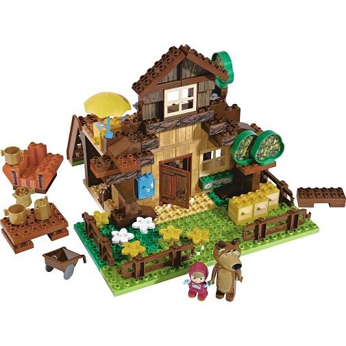 Big Конструктор Маша и Медведь Дом Мишки