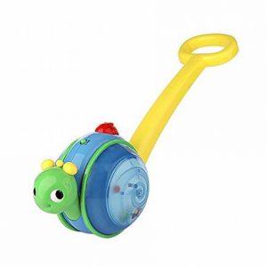 Bright Starts Музыкальная улитка игрушка каталка 10935