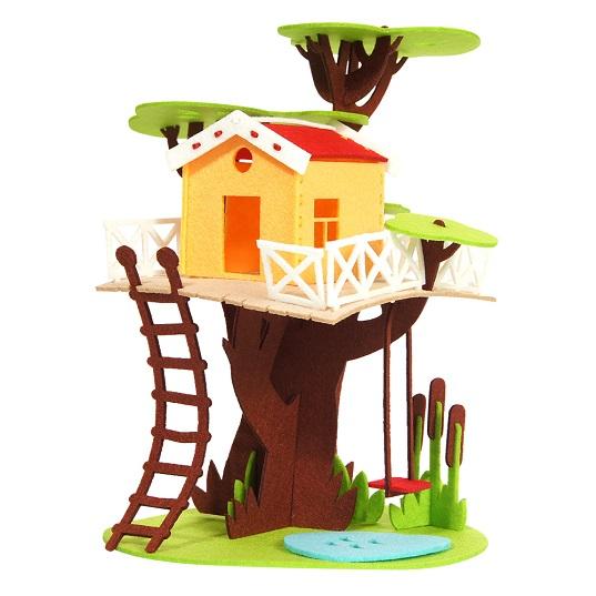 Feltrica 3D-конструктор из фетра Дом на дереве
