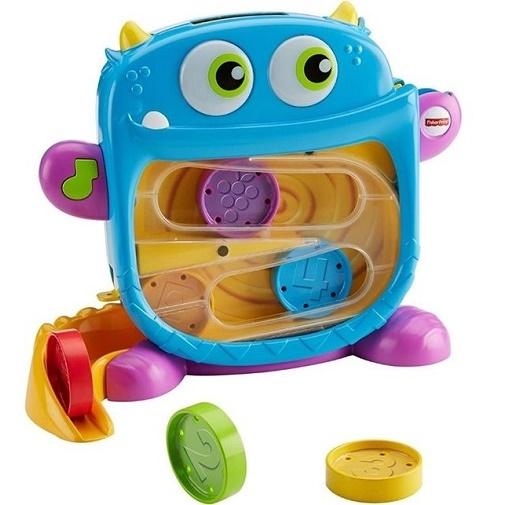 Fisher-Price Развивающая игрушка Голодный монстрик