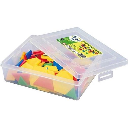 Gigo Конструктор Plastic Pattern Blocks (Гиго. Занимательная мозаика)