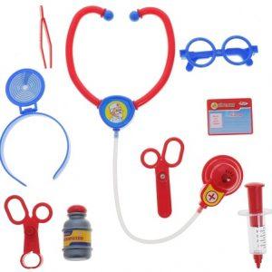 Играем вместе Игровой набор Доктор Айболит 9 предметов