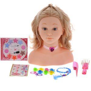 Игровой набор Klein Модель для макияжа и причесок Princess Coralie 30 предметов