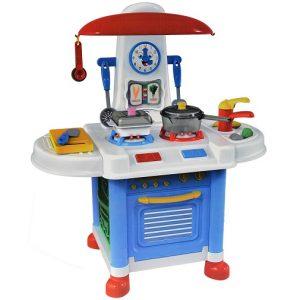 Игровой набор Кухня Помогаю маме 16 предметов