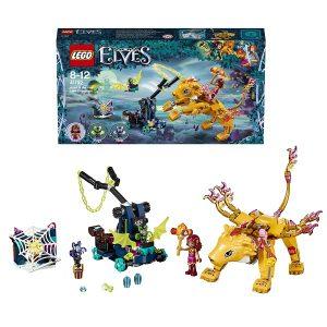 Конструктор Лего Ловушка для Азари и огненного льва LEGO Elves 41192