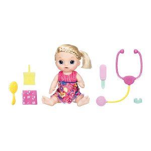 Кукла Малышка Блондинка у врача Baby Alive Hasbro