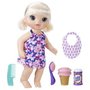 Кукла Малышка с мороженым Baby Alive Hasbro C1090