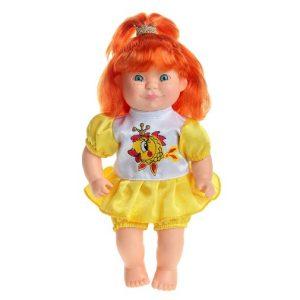 Кукла Полинка 6 с рыжими волосами 30 см Sima Land