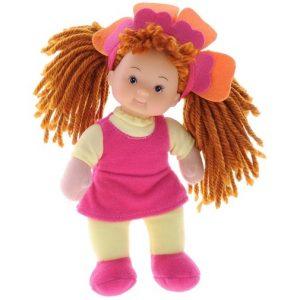 Кукла Simba мягкая Little Flower (цвет платья желтый розовый)