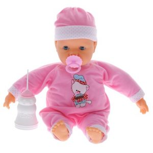 Кукла-пупс Falca, озвученная, с аксессуарами, 38 см