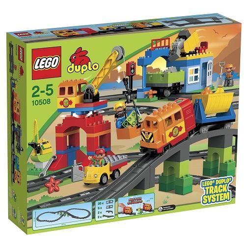 LEGO DUPLO Конструктор Большой поезд 10508
