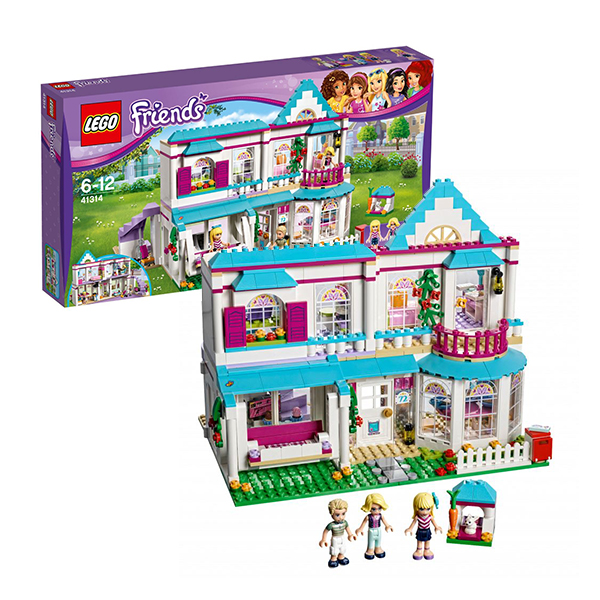 LEGO Friends Конструктор Дом Стефани 41314