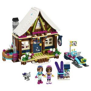 LEGO Friends Конструктор Горнолыжный курорт Шале 41323