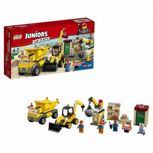 LEGO Juniors Конструктор Стройплощадка 10734