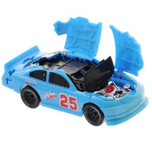 Машинка Краш-тест (цвет голубой) Big Motors 6689B
