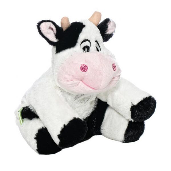 Мягкая игрушка-грелка Корова 30 см