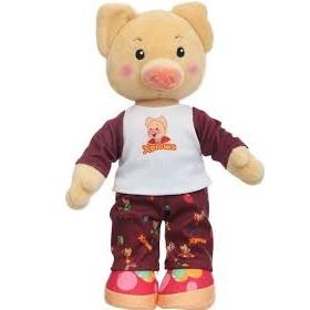Мягкая озвученная игрушка Хрюша в пижаме (27 см) Спокойной ночи, малыши!