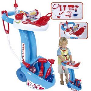 Palau Toys Игровой набор Доктор с тележкой