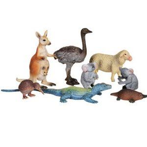 Wenno Набор фигурок (8 шт) Животные Австралии