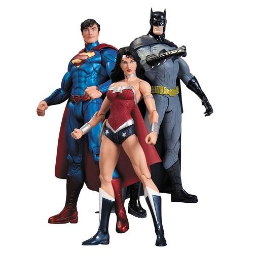 DC Comics набор фигурок Batman, Wonder Woman, Superman (3 шт)
