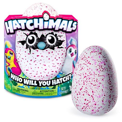 Hatchimals Интерактивный питомец (розовый) вылупляющийся из яйца