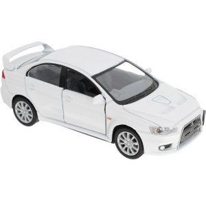Kinsmart Модель автомобиля 2008 Mitsubishi Lancer Evolution X цвет белый