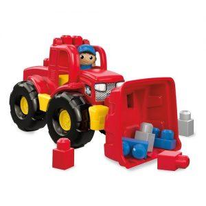 Конструктор Mega Bloks Трансформирующийся самосвал First Builders DPP73