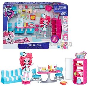 My Little Pony Equestria Girls Игровой набор с мини-куклой Pinkie Pie Sweet Snacks Cafe